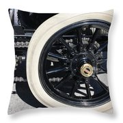Classic Antique Car- Detail Throw Pillow