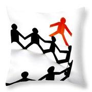 Conceptual Situation Throw Pillow