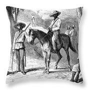 Cuba: Ten Years War Throw Pillow