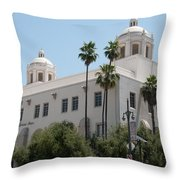 El Pueblo De Los Angeles Throw Pillow