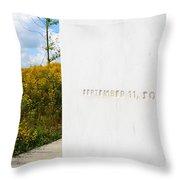 Flight 93 Memorial Throw Pillow