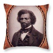 Frederick Douglass African-american Throw Pillow