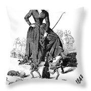 George Sand (1804-1876) Throw Pillow