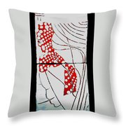 Guardian Angel Throw Pillow by Gloria Ssali