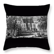 James Buchanan (1791-1968) Throw Pillow
