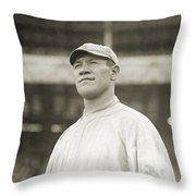 Jim Thorpe (1888-1953) Throw Pillow
