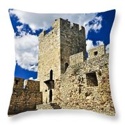 Kalemegdan Fortress In Belgrade Throw Pillow