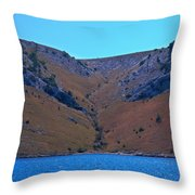 Kornati National Park Throw Pillow