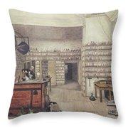 Michael Faraday, English Physicist Throw Pillow