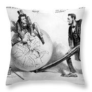 Presidential Campaign: 1864 Throw Pillow
