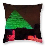 Pyramids Of Giza Throw Pillow