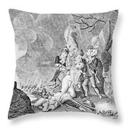 Quebec Expedition, 1775 Throw Pillow