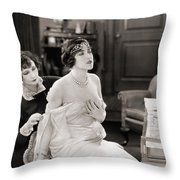 Silent Still: Bedroom Throw Pillow by Granger