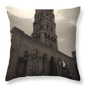Split Old Town Throw Pillow