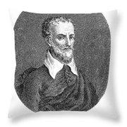 Torquato Tasso (1544-1595) Throw Pillow