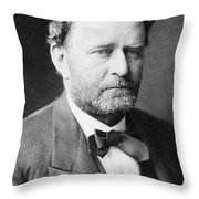 Ulysses S. Grant, 18th American Throw Pillow