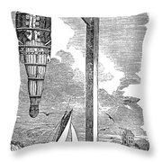 William Kidd (c1645-1701) Throw Pillow
