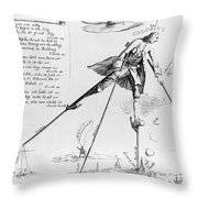 William Pitt (1708-1778) Throw Pillow