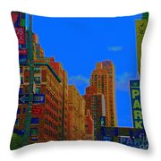 76th And Amsterdam Throw Pillow