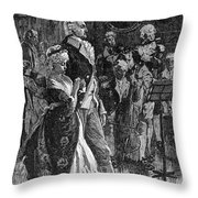 George Washington Throw Pillow by Granger
