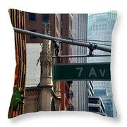 7th Avenue Throw Pillow