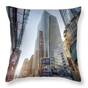 7th Street Nyc  Throw Pillow