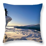 Alaska, Juneau Throw Pillow