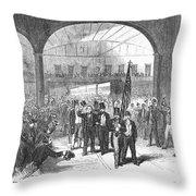 Andrew Johnson (1808-1875) Throw Pillow