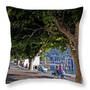 Ascona - Ticino Throw Pillow