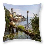 Brissago - Ticino Throw Pillow