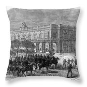 Cuba: Ten Years War Throw Pillow