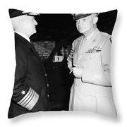 Dwight D. Eisenhower Throw Pillow