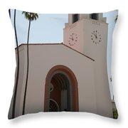 El Pueblo De Los Angeles Throw Pillow
