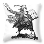 James Boswell (1740-1795) Throw Pillow