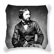 John C. Fremont (1813-1890) Throw Pillow