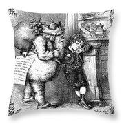Thomas Nast: Christmas Throw Pillow