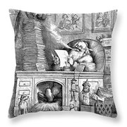 Thomas Nast: Santa Claus Throw Pillow