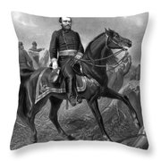 Ulysses S Grant 18th American Throw Pillow
