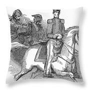 Winfield Scott (1786-1866) Throw Pillow by Granger