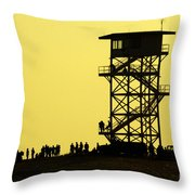 82nd Airborne Division Soldiers Gather Throw Pillow