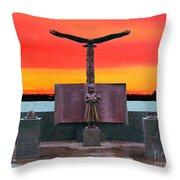 9-11  West Orange Nj Throw Pillow