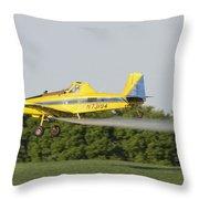 Airplane Throw Pillow