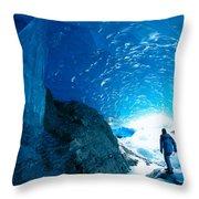 Alaska, Juneau Throw Pillow