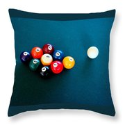 9 Ball Throw Pillow