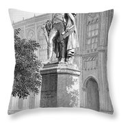 Benjamin Thompson Throw Pillow by Granger