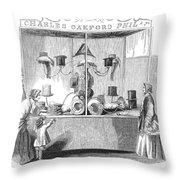Crystal Palace, 1853 Throw Pillow