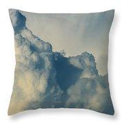 Cumulonimbus Clouds Throw Pillow
