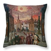Getty Museum Throw Pillow