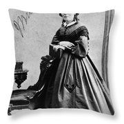 Harriet Beecher Stowe Throw Pillow