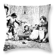 India: Sepoy Rebellion, 1857 Throw Pillow